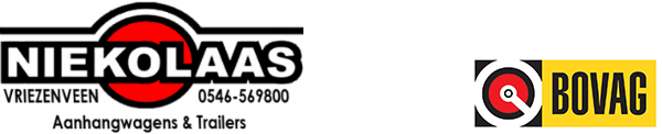 Niekolaas Aanhangwagens & Trailers